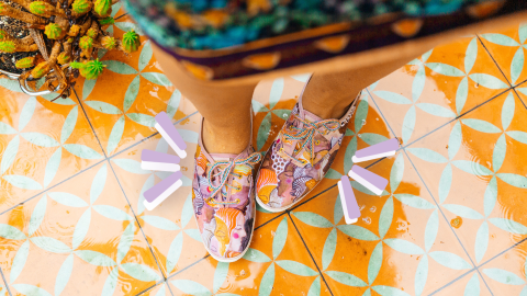This Keds x Jungalow Champion Sneaker Is Inspired By Sisterhood & Togetherness | StyleCaster