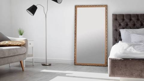 Sleek Full-Body Leaning Mirrors to Instantly Elevate Your Space | StyleCaster