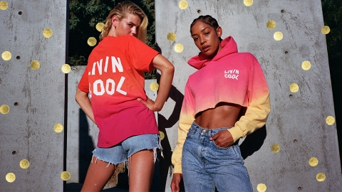 LIVINCOOL Is Donating 100% Of Profits From New Gradient Collection To Color Of Change | StyleCaster