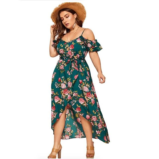 Milumia Women's Plus Size Dress
