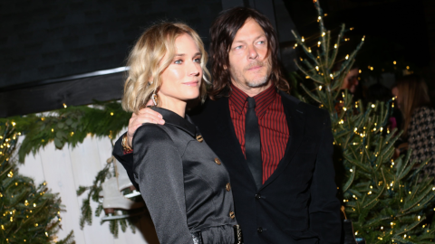 Diane Kruger Posted a Rare Photo of Norman Reedus & Their Baby For Father's Day   StyleCaster