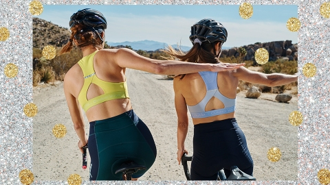 The Rapha + Outdoor Voices Collection Is A Biker Chick's Dream | StyleCaster