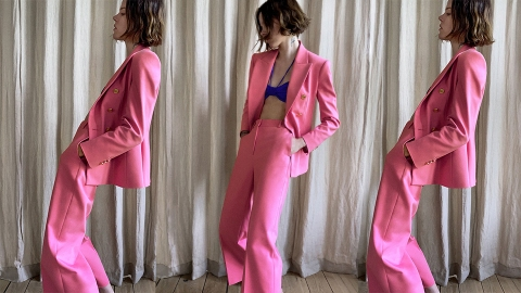 Zara Has Me Ready To Spend My Whole Summer In Colorful Suits   StyleCaster