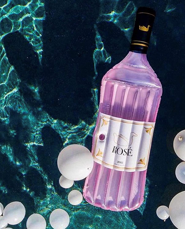 swimline rose bottle float amazon