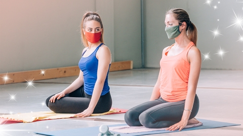 The Best Cloth Face Masks For Staying Comfortable During Your Next Workout | StyleCaster