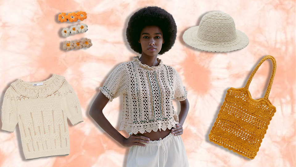 Zara Is So On Top Of Summer's Crochet Trend—Shop The Look Now