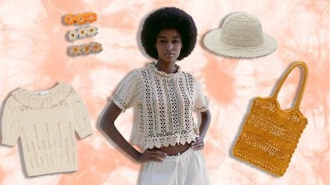 Zara Is So On Top Of Summer's Crochet Trend—Shop The Look Now | StyleCaster