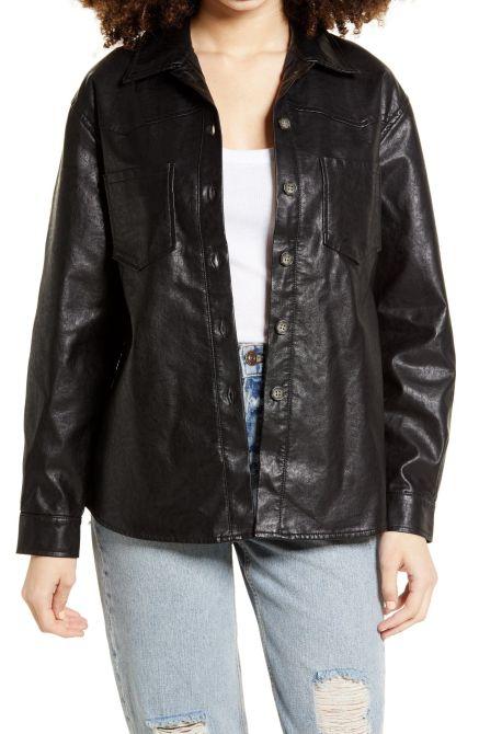 STYLECASTER | Shirt Jacket Trend
