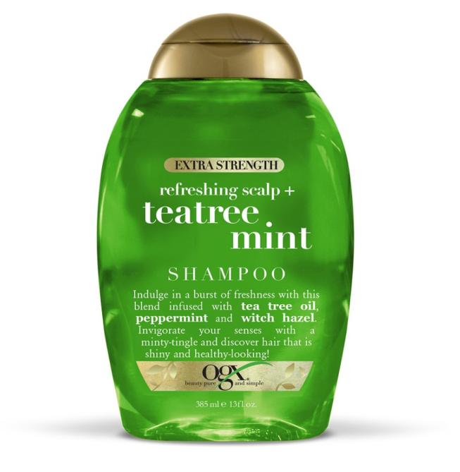OGX Extra Strength Refreshing Scalp + Teatree Mint Shampoo