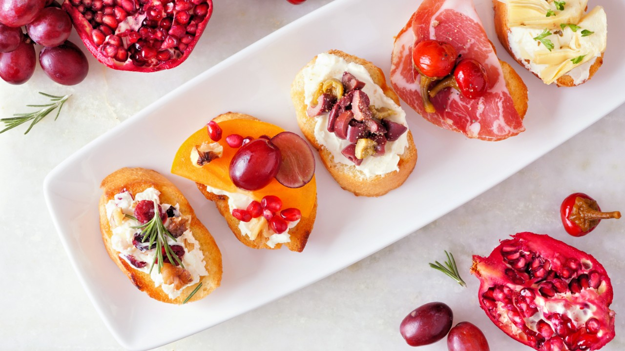Stylish Appetizer Plates That Are Made for Your Dinner Parties