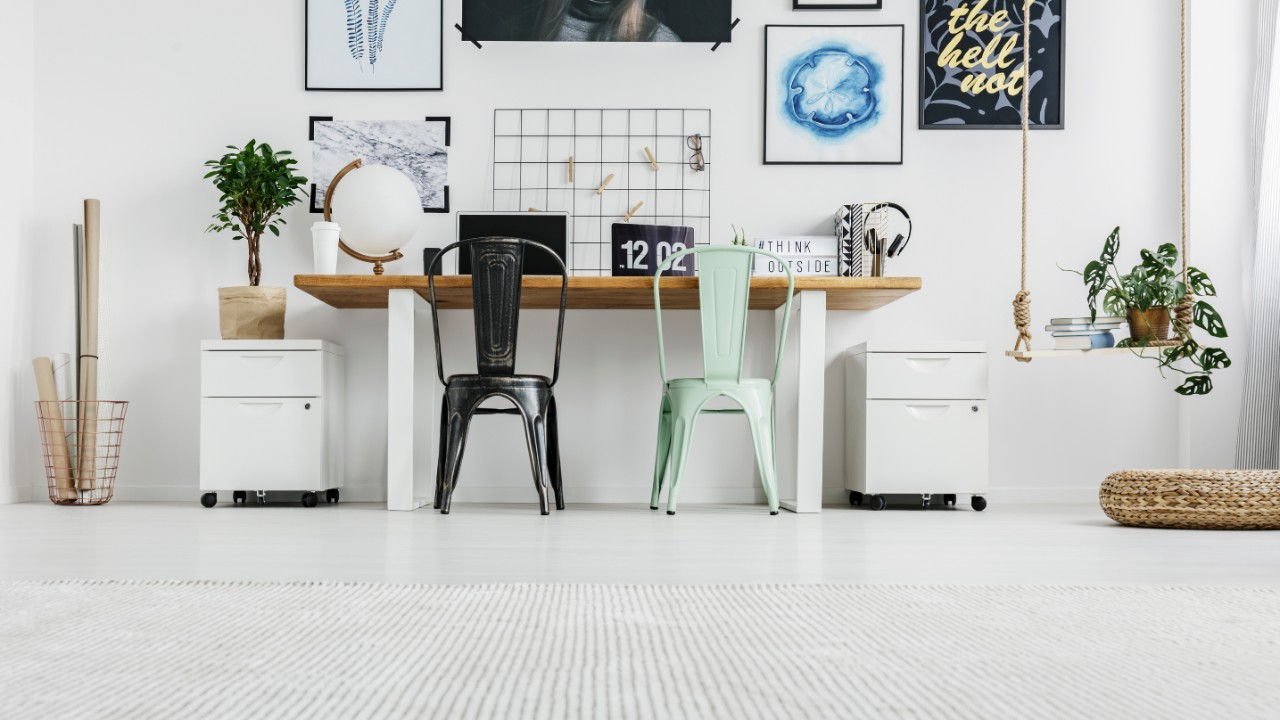Stylish File Cabinets to Complete Your Home Office Set-Up