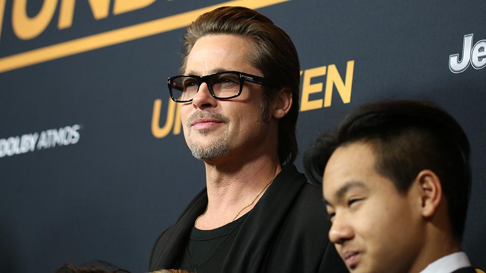 Brad Pitt & Maddox Jolie-Pitt