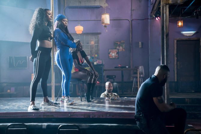 brandee leaning puv1 101 052419 3921 a P Valley Star Brandee Evans Wants Cardi B to Teach Her Some New Stripper Moves