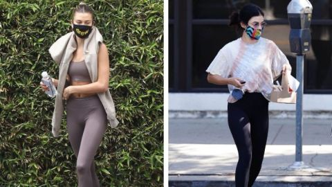 23 Celebs Wearing Face Masks Because They Really Are Just Like Us | StyleCaster