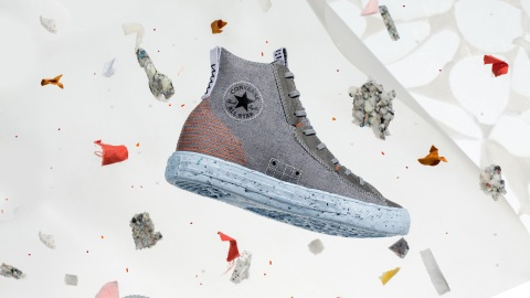 Converse's New Chuck Taylor All Star Crater Is A Sustainable Take On An Iconic Sneaker | StyleCaster