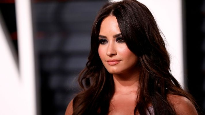Demi Lovato Just Took the Jelly Nails Trend to the Next Level