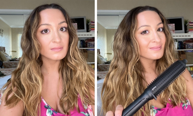 STYLECASTER | ghd rise hot brush review