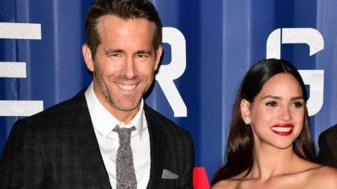 Ryan Reynolds Hilariously Welcomes Marvel Star Adria Arjona Into the Armani Fam   StyleCaster