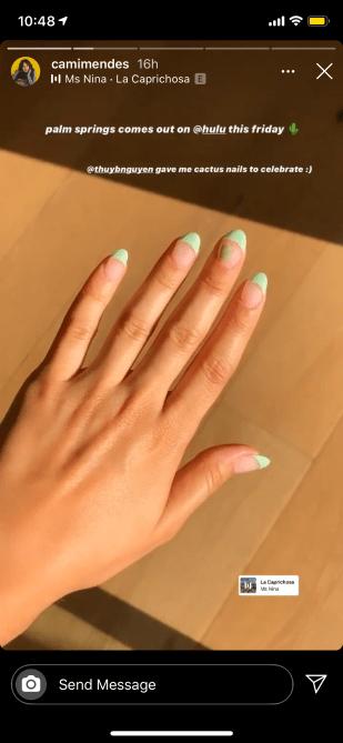 camila mendes nails