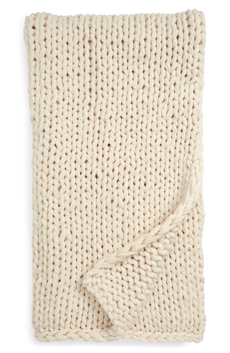 TREASURE & BOND jersey throw blanket