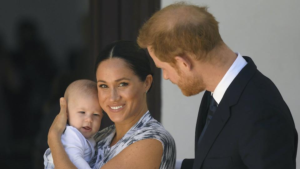 Archie Mountbatten-Windsor, Meghan Markle & Prince Harry