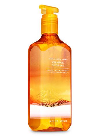 orange sunrise gentle gel hand soap