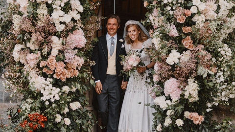 Princess Beatrice's Wedding Shared a Special Feature With Meghan Markle & Kate Middleton's   StyleCaster