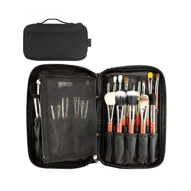 Professional Cosmetic Case Makeup Brush Organizer
