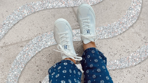Rothy's Lace-Up Sneakers Are Here & Yes, You Definitely Need Them | StyleCaster
