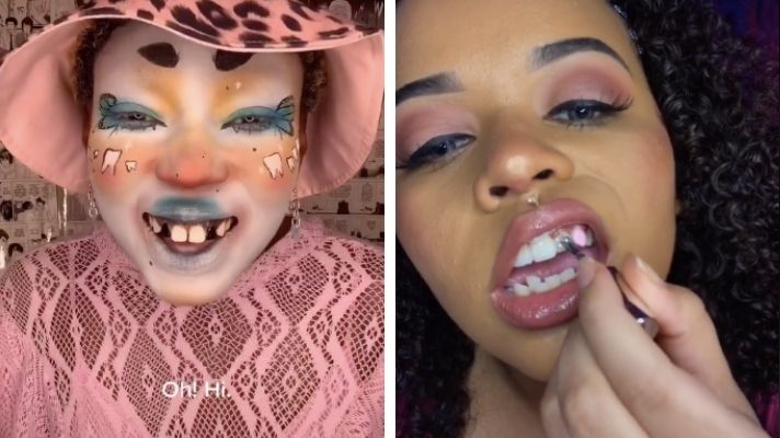 Tikiktok Tooth Polish Trend Has Teens