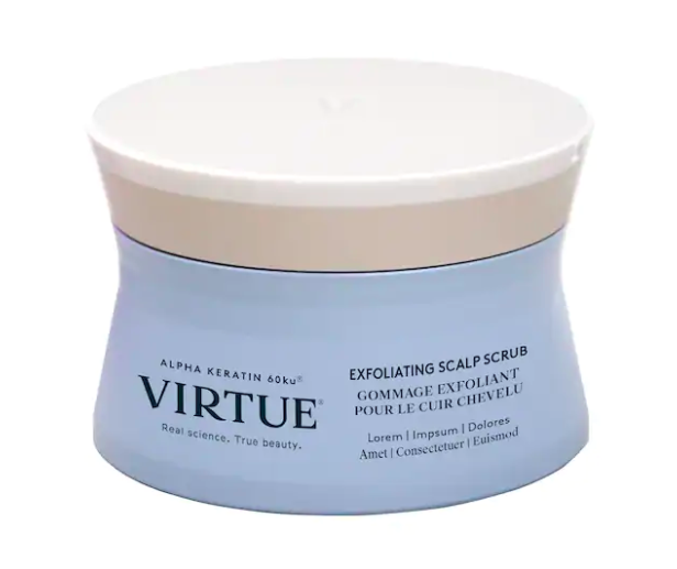 virtue exfoliating scalp treatement