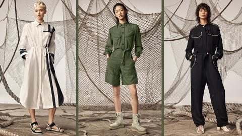 Zara's SPRLS CHPTR 4 Collection Combines Utilitarian Basics With Street Style Flair | StyleCaster