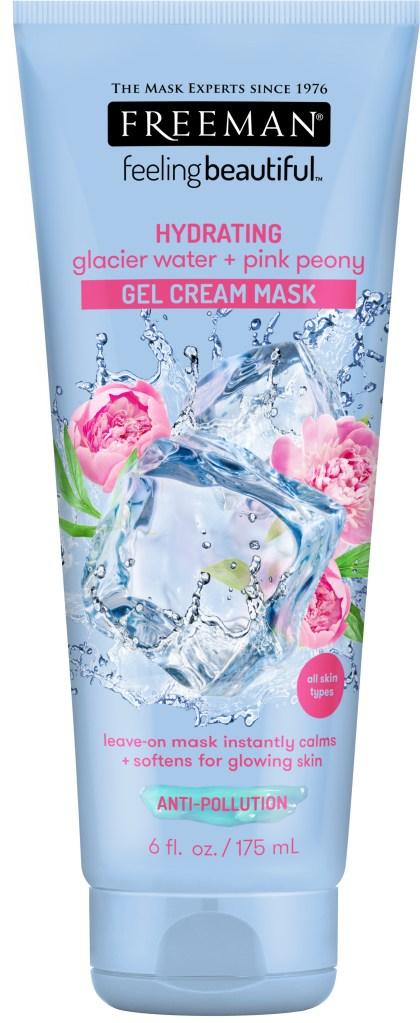 STYLECASTER | best face moisturizers | Freeman gel cream mask