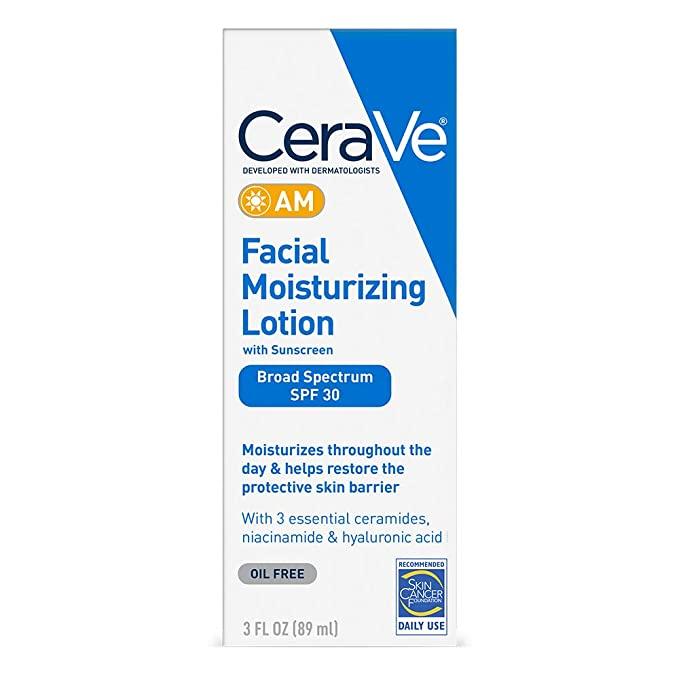 STYLECASTER | best facial moisturizer | Cerave with SPF
