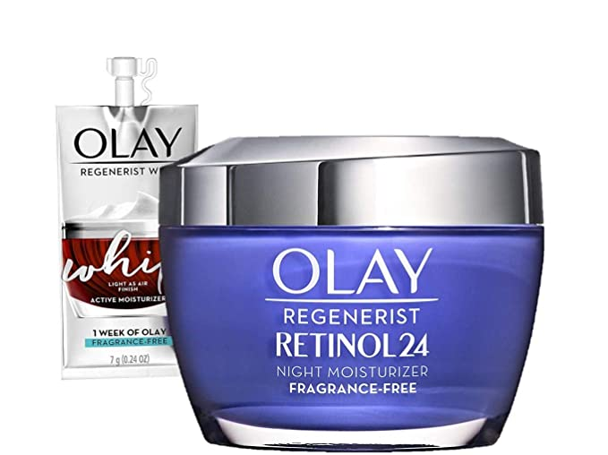 STYLECASTER | best face moisturizer | Olay regenerist with retinol
