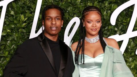 So, Rihanna Trolled ASAP Rocky Over His First Red Carpet Look & We're Still Not Over It | StyleCaster