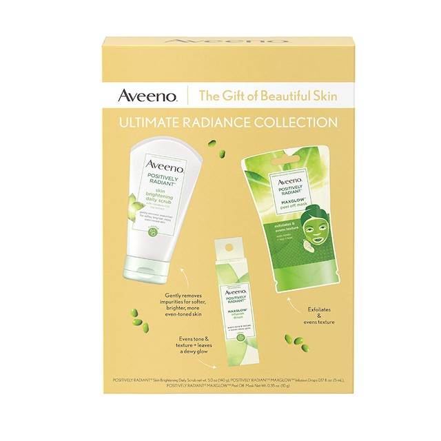 Aveeno Ultimate Radiance Collection Skincare Gift Set
