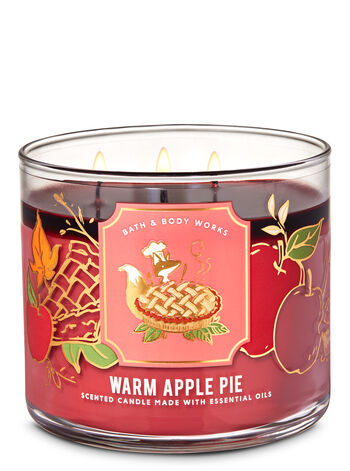 bath body works candle apple