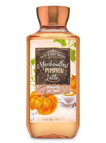 bbw pumpkin shower gel