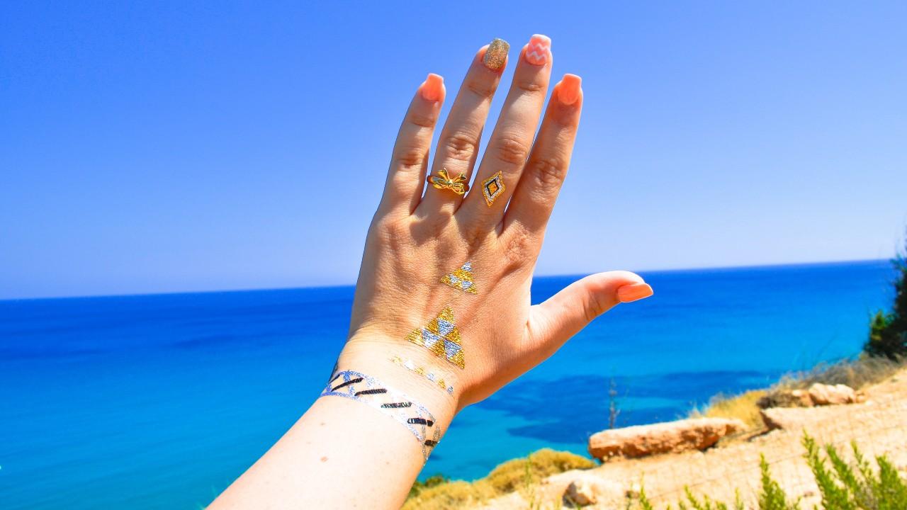 Temporary Metallic Tattoos You Won't Regret The Next Day