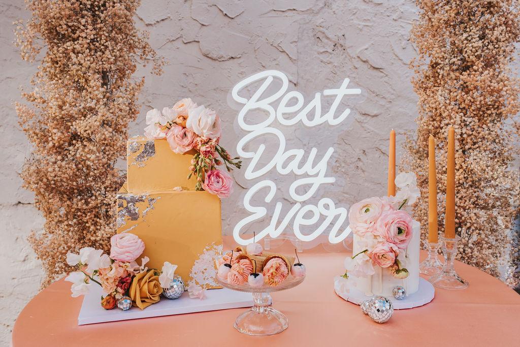 STYLECASTER | modern wedding details