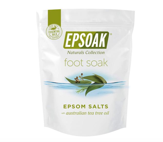 Tea Tree Oil Foot Soak with Epsoak Epsom Salt