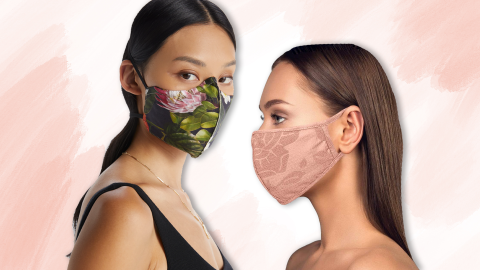 """11 Wedding-Worthy Face Masks To Wear While Your Friends Say """"I Do"""" 