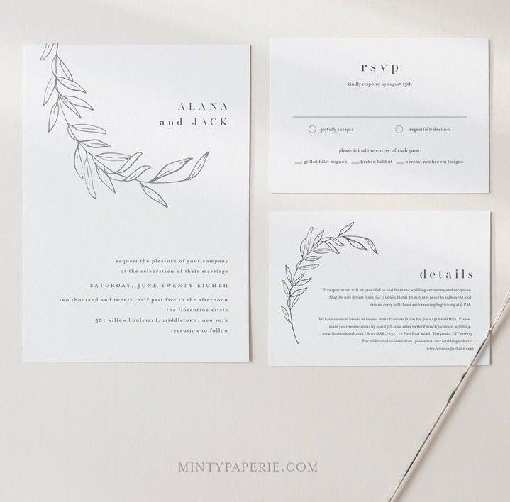 STYLECASTER   modern wedding invitations
