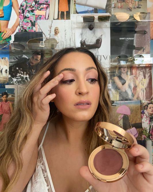 STYLECASTER | Charlotte Tilbury Lip & Cheek Glow Blush Review