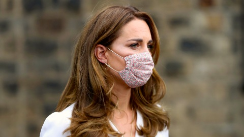 Kate Middleton's Floral Face Mask Is Too Cute Not To Shop | StyleCaster