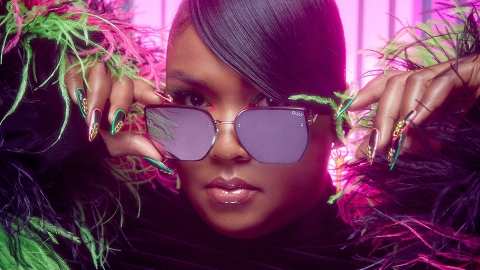Lizzo's Second Quay Sunglasses Collab Is Here & It's Good As Hell | StyleCaster