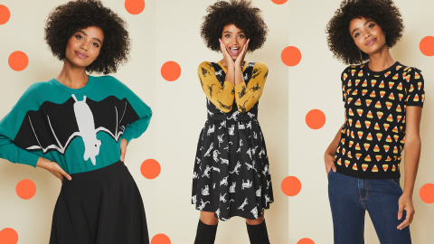 ModCloth's Halloween Collection Is Already Out, So Let's Get Spooky | StyleCaster