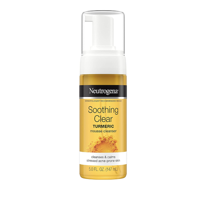 Neutrogena Soothing Clear Mousse Facial Cleanser