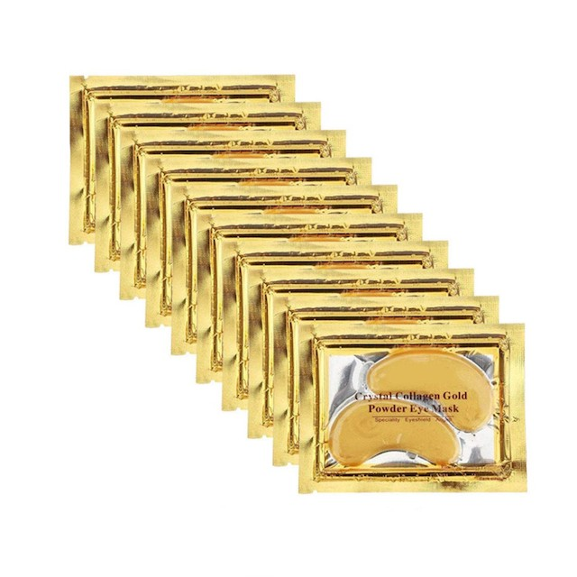 Permotary 30 Pairs Crystal Collagen Under Eye Mask